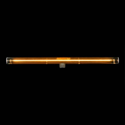 S14d LED tube gold light bulb - 500 mm length 12W 2000K dimmable - for S14 System