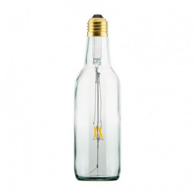 LED Clear Beer Light Bulb 3.5W E27 Dimmable 2200K