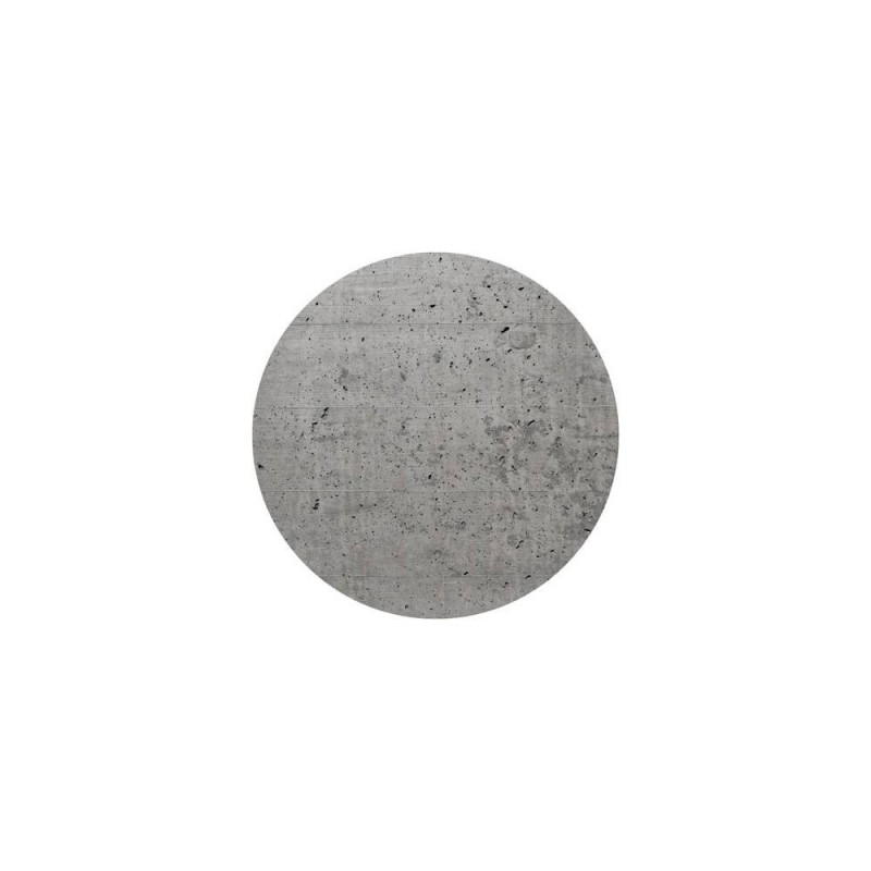 200 mm diameter round un-drilled Panel for Rose-One System