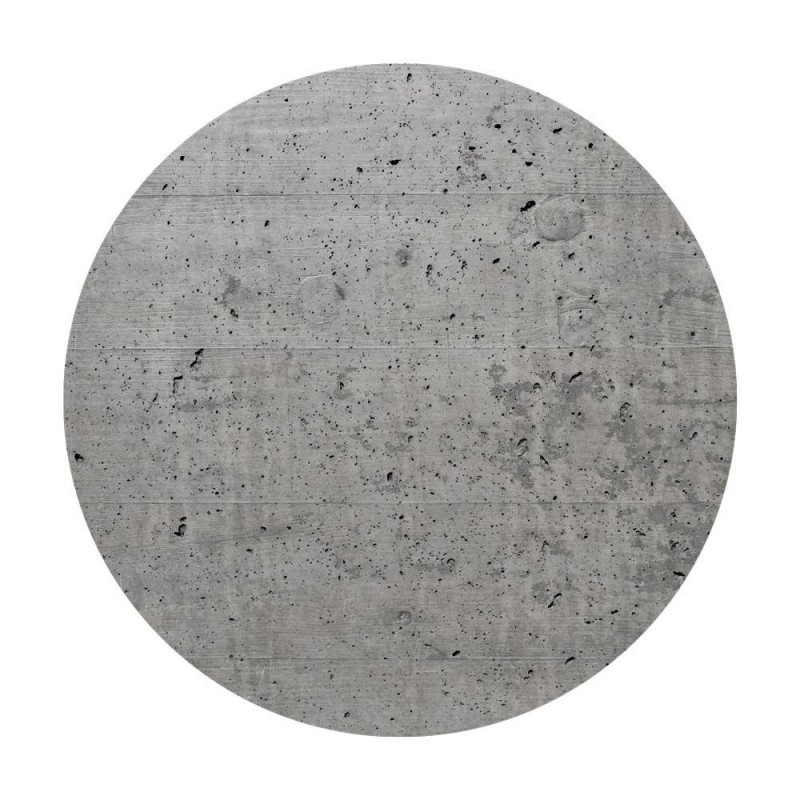 400 mm diameter round un-drilled Panel for Rose-One System
