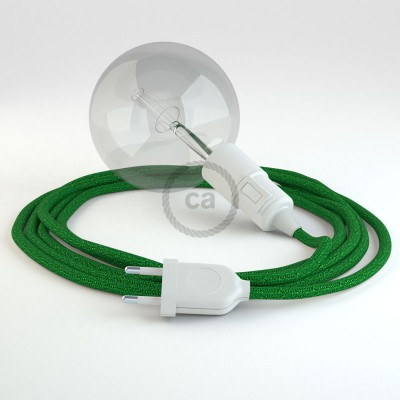 Create your RL06 Glittering Green Snake and bring the light wherever you want.