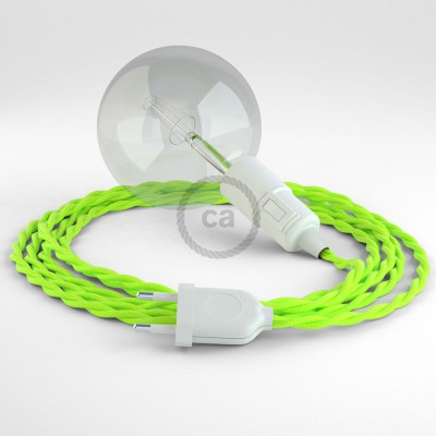 Create your TF10 Yellow Fluo Snake and bring the light wherever you want.