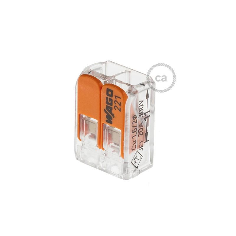 2 poles Transparent Universal Splicing Connectors