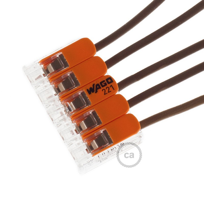 5 poles Transparent Universal Splicing Connectors