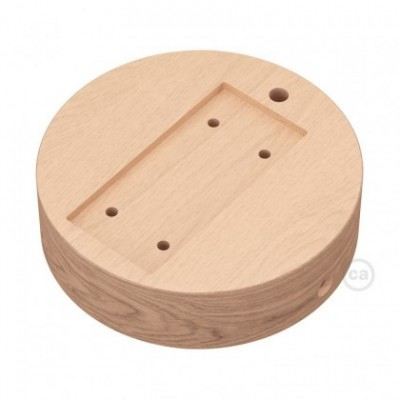 Round base for Archet(To) in natural wood