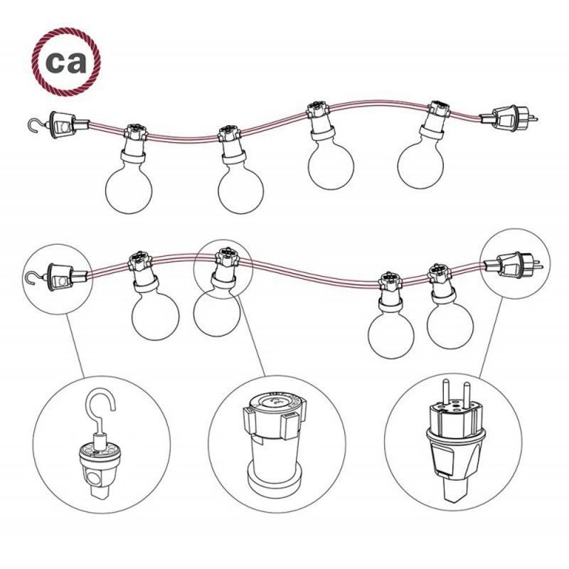 Hook for Lumet String Lights
