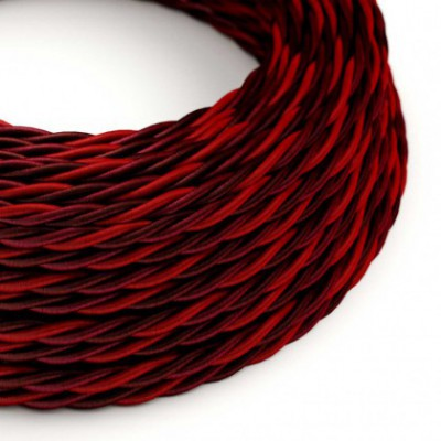 Electric Cable covered with twisted Rayon - Asburgo TG05