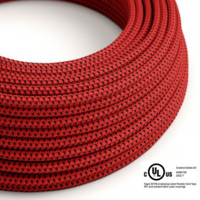 Round Electric Cable 150 ft (45,72 m) coil RT94 Red Devil Rayon - UL listed