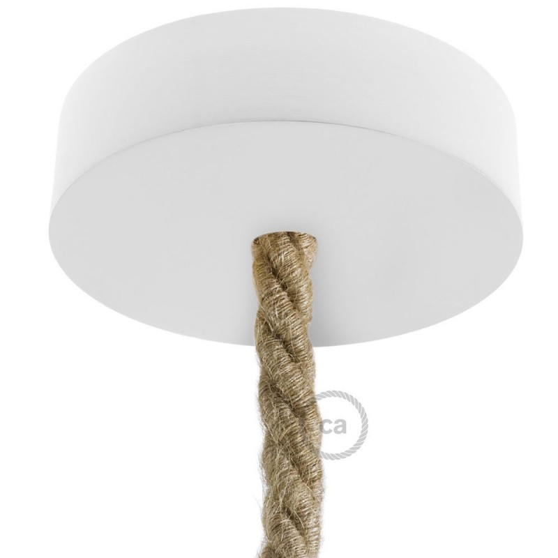 Wooden ceiling rose kit for XL cord