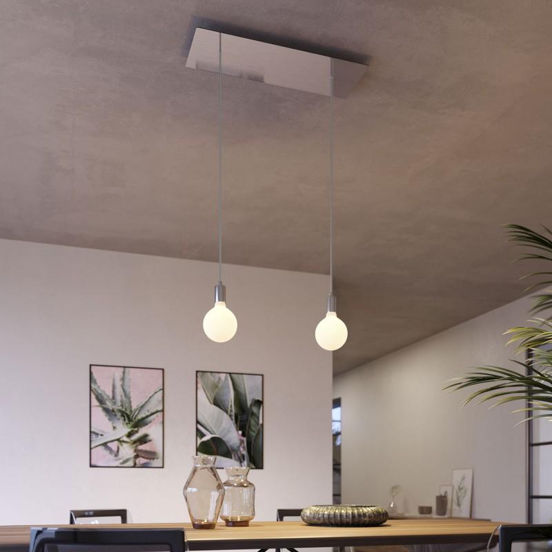 Rectangular XXL Rose-One 2-hole ceiling rose kit, 675 x 225 mm Cover