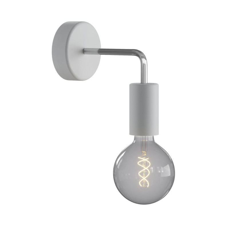 Fermaluce EIVA ELEGANT with L-shaped extension, ceiling rose and lamp holder IP65 waterproof