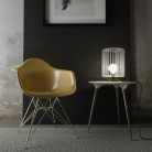 Posaluce Metal for lampshade, our metal table lamp complete with fabric cable, switch and UK plug