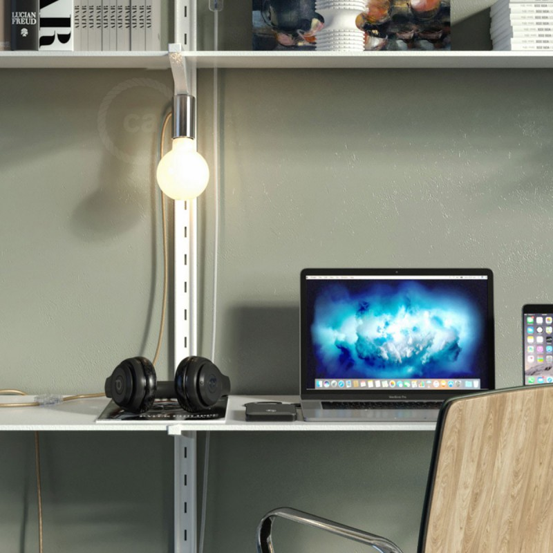 Magnetico®-Plug, ready-to-use magnetic lamp holder