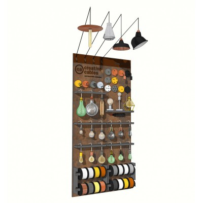Corner Urban 120 cm, ready-to-use retail display wall-unit - Free with a 3.500 € order