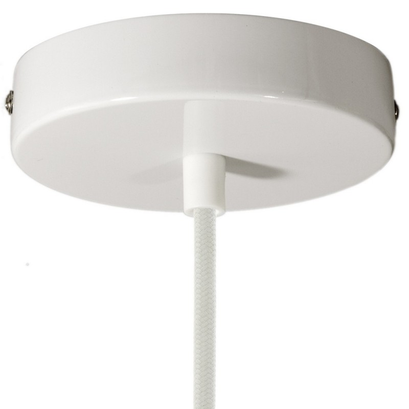 SMART cylindrical metal ceiling rose kit - compatible with voice assistants