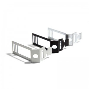 Zinc-plated metal Adjustable Cable Clip for Creative-Tube