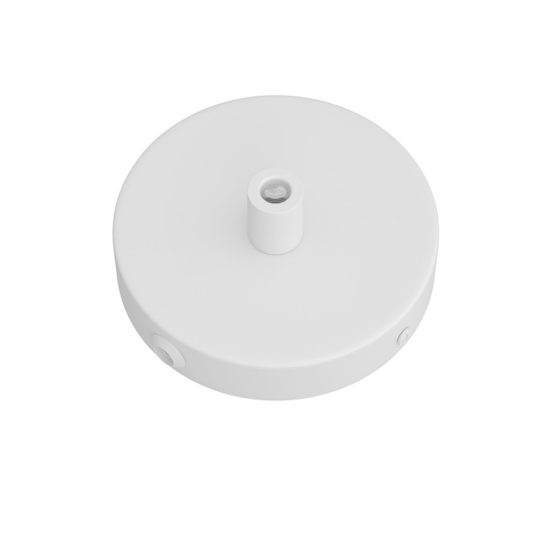 Mini cylindrical metal 1 central hole + 4 side holes ceiling rose kit
