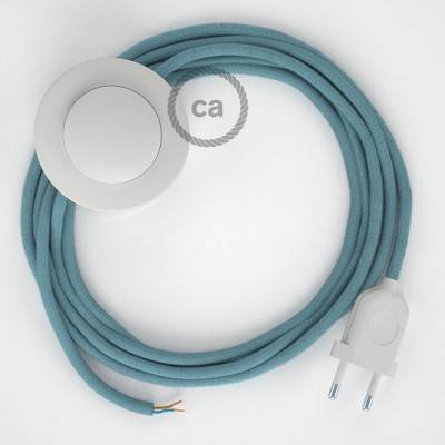 Wiring Pedestal, RC53 Ocean Cotton 3 m. Choose the colour of the switch and plug.