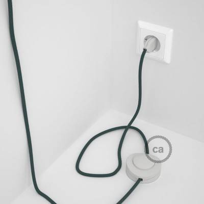 Wiring Pedestal, RC30 Stone Grey Cotton 3 m. Choose the colour of the switch and plug.