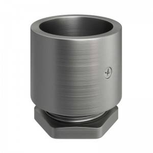 Zinc-plated metal threaded cable terminal for M20 thread Creative-Tube, screw clamps included