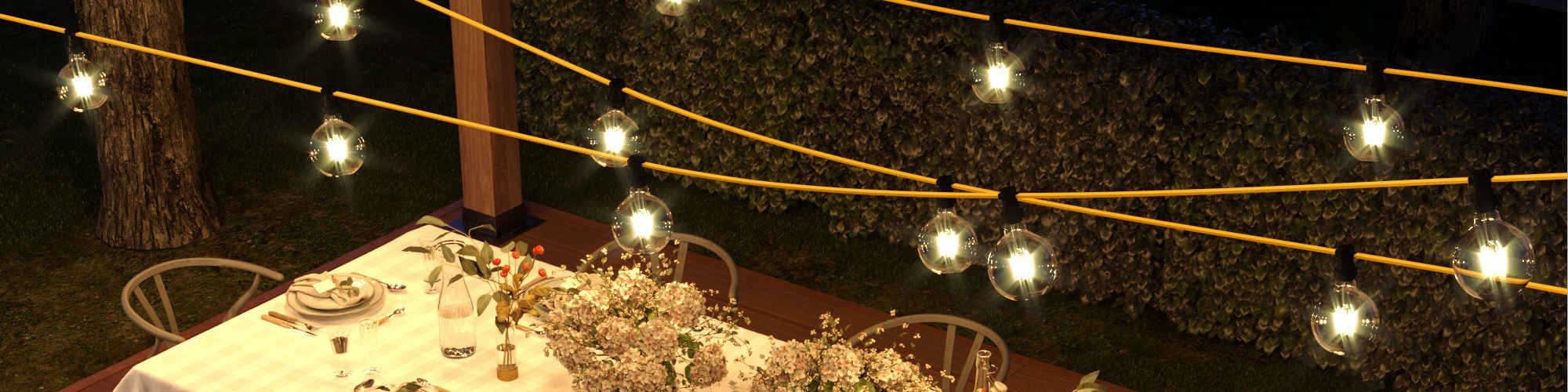 String lights System